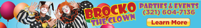 Brocko the Clown banner ad