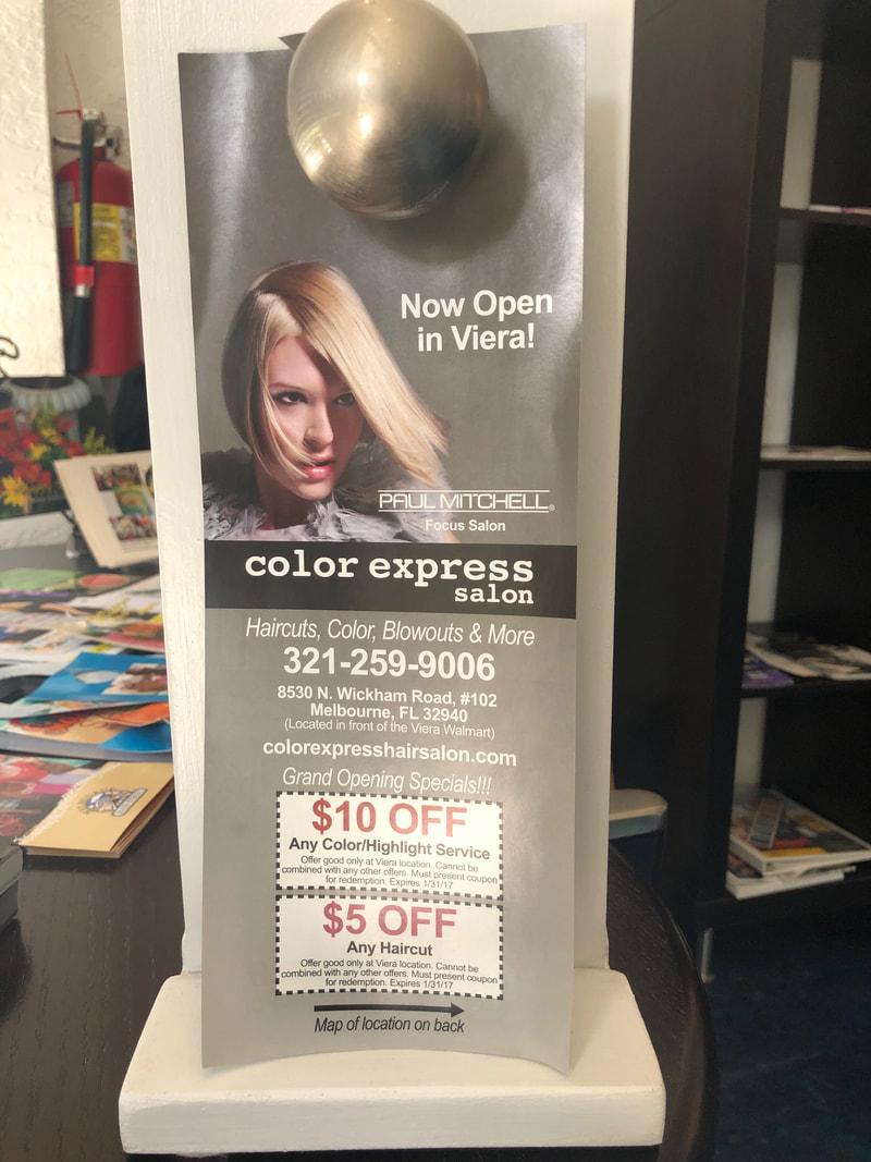 Door Hanger Printing With Digital Ink Graphic Design And